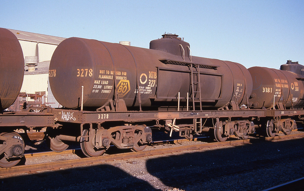 Petrol Tank Wagon, Botany, NSW.