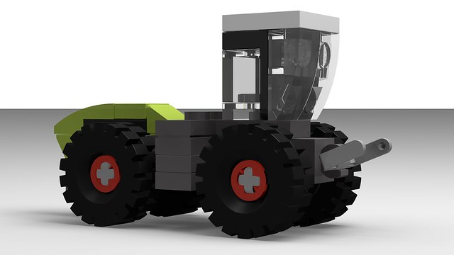 How to Build the Claas Xerion (MOC - 4K)