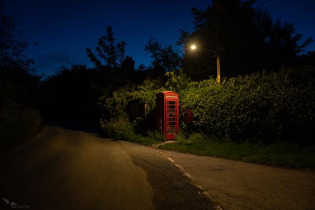 Last phone box for 15 miles