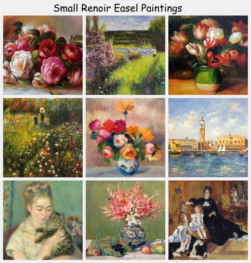Small Renoir Easel Paintings