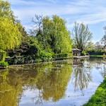 Canal scene by Haslam Park