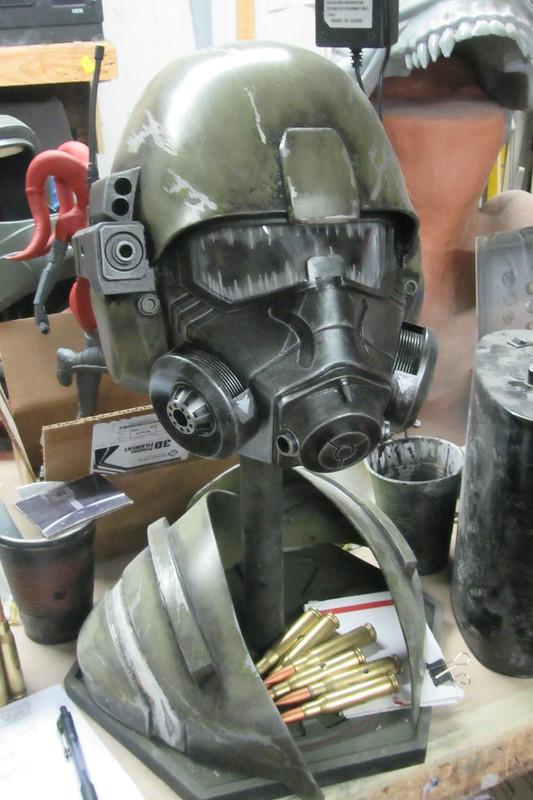 NCR Ranger Helmet Awaiting Progress