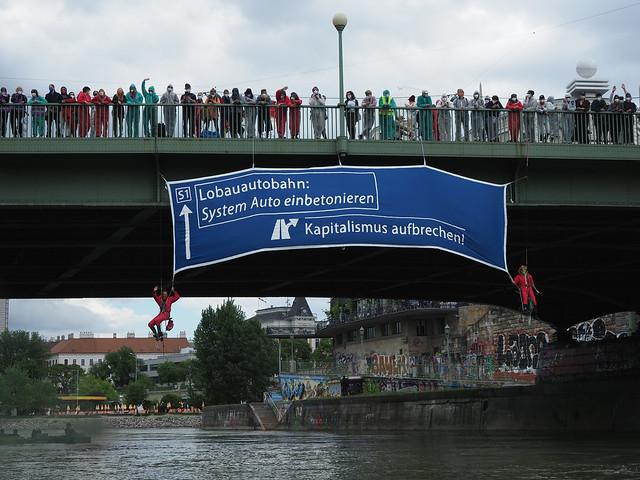 28.05.21 Blockade Lobau-Autobahn Stoppen