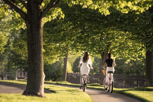 Summer Bike rides... Friends...