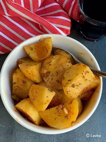 Gekruide aardappels uit de Instant Pot