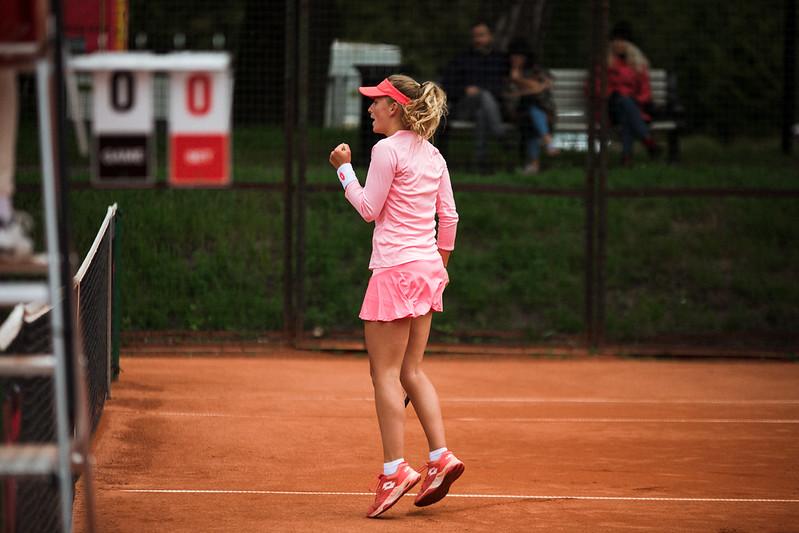 """Starptautiskās ITF pasaules tenisa tūres W25 kategorijas sacensības sievietēm """"Liepaja Open"""" 6.diena. Foto: Mārtiņš Vējš / 6th day of ITF Women's World Tennis Tour W25 category """"Liepaja Open"""". Photo: Mārtiņš Vējš"""