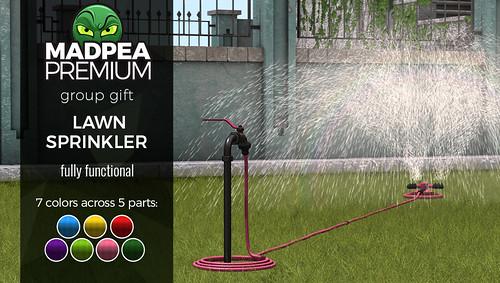MadPea May Premium Group Gift: Lawn Sprinkler