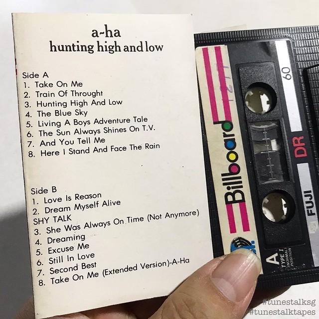 AHA HUNTING HIGH AND LOW TUNESTALKTAPES 04