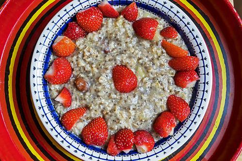 I love having porridge every morning - Explored