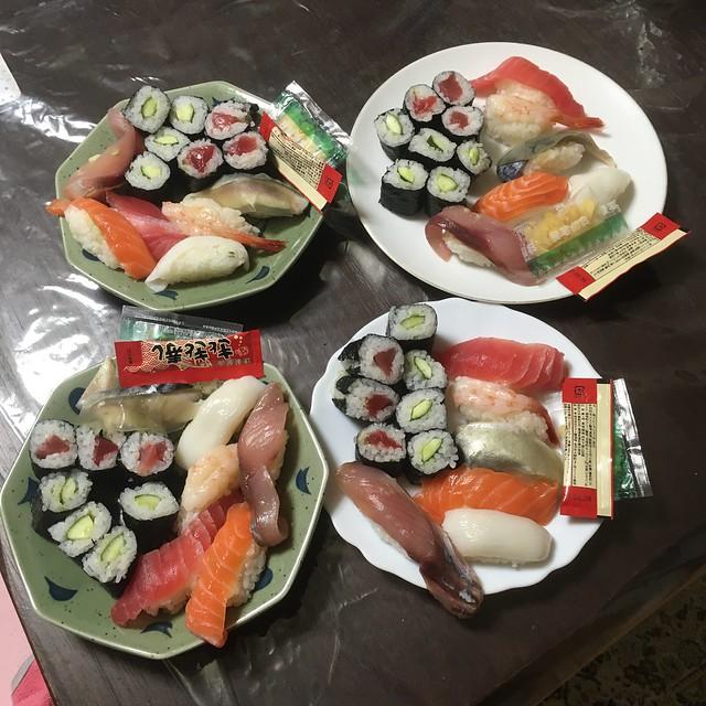 きときと寿司をテイクアウト!w