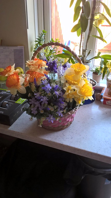Toni's Artificial Flower Arranging !!!