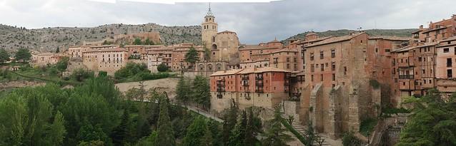 Panorámica de Albarracín /Teruel-Aragón, ESPAÑA