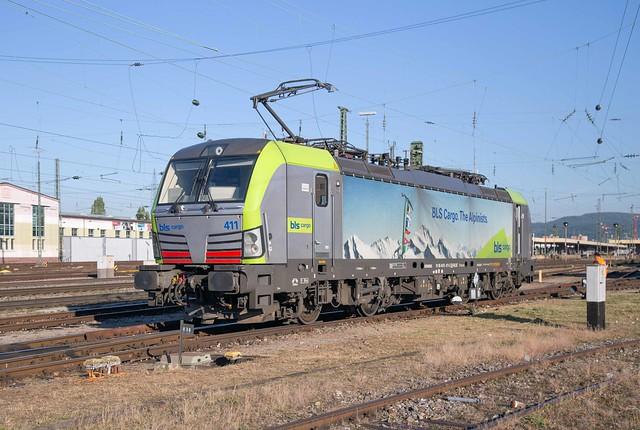 BLS Re 475 411 Basel Badischer Bahnhof
