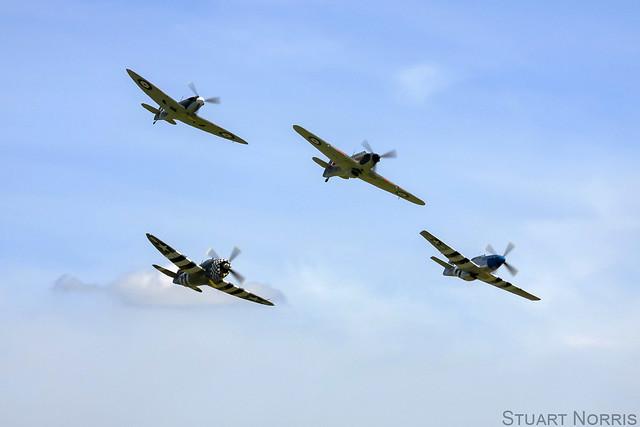 Eagle Squadron - Duxford Spring Air Show 2013.