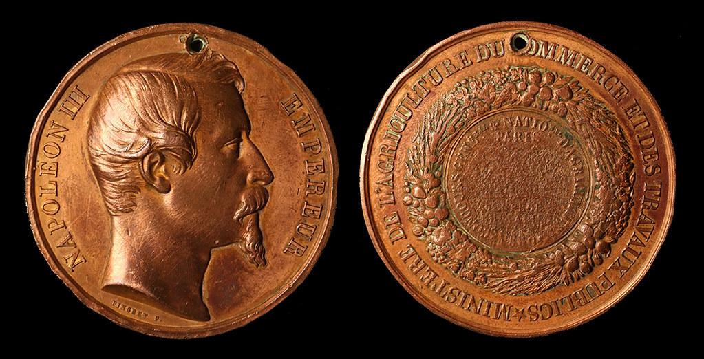 Illustration07-Médaille Concours National Agicole-Paris 1860bsmall