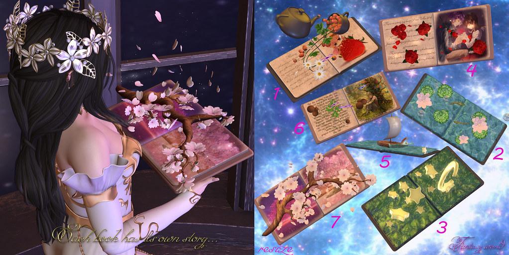 {Fantasy world} Book Collection