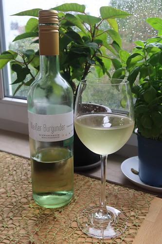 Weißer Burgunder (trockener Weißwein aus Rheinhessen)