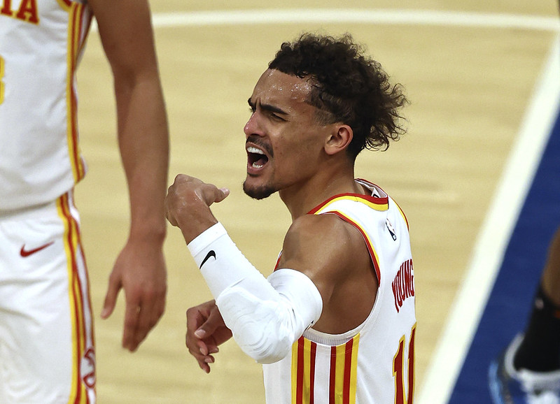 Trae Young。(達志影像資料照)