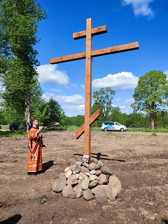 29.05.2021   Вдицко. Освящение креста.