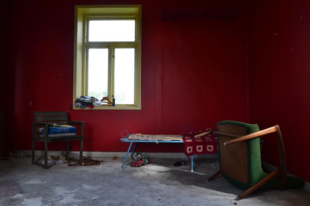 Red Room in Ödeshög, Sweden