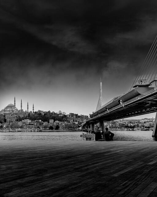 Halic Metro Bridge BW