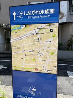 大森駅付近の地図