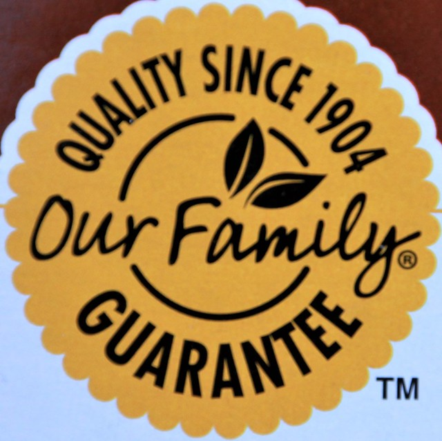 Our Family Guarantee - Quality Since 1904