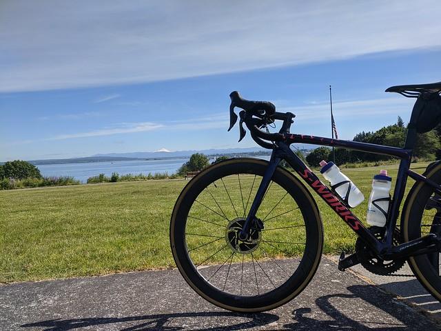 Harborview Park Bike Selfie