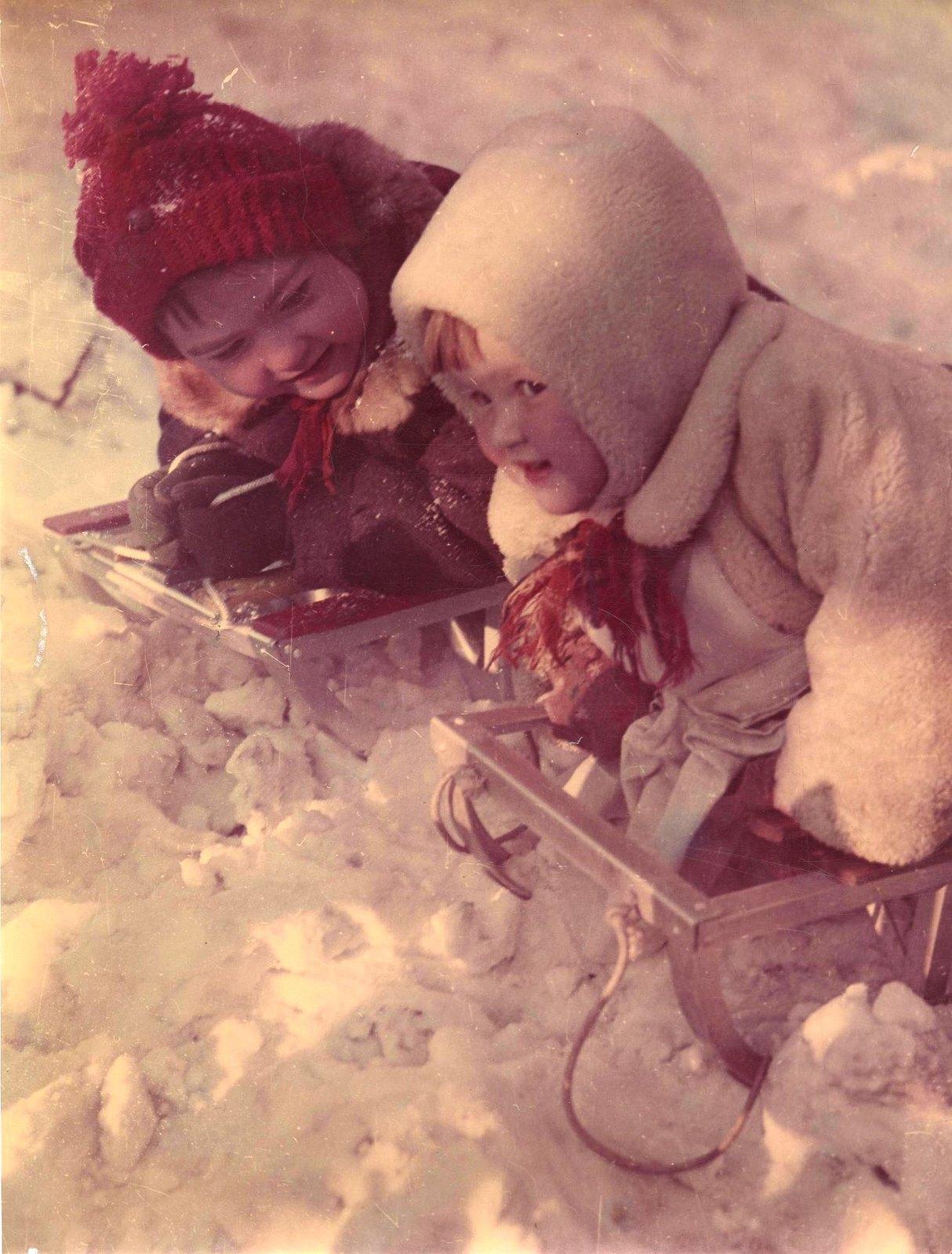 1950-е. Зимние забавы