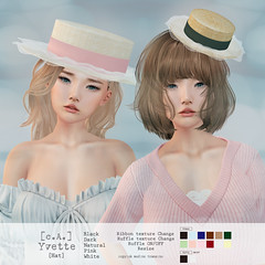 [c.A.] Yvette [Hat]