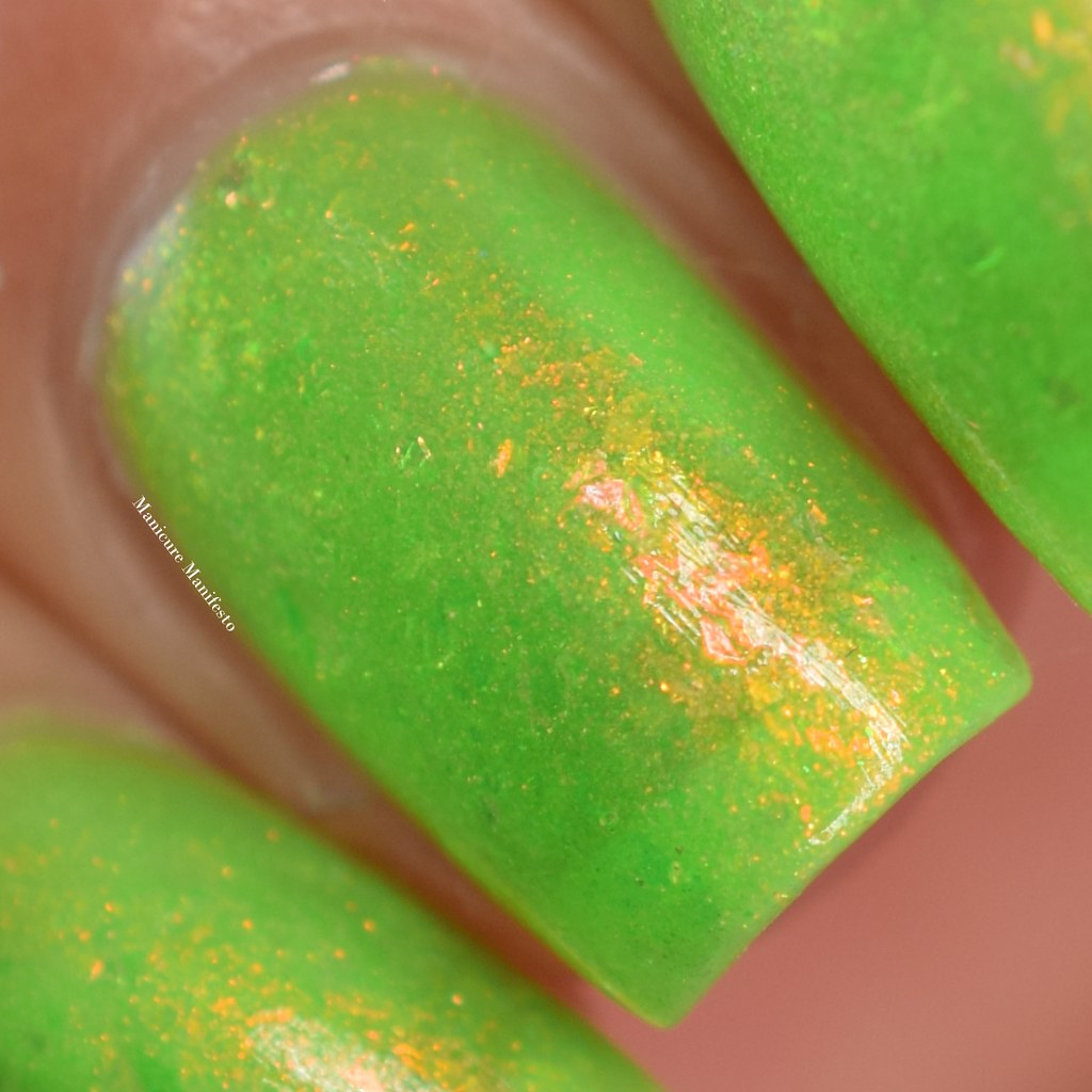 Paint It Pretty Polish Lime Time swatch