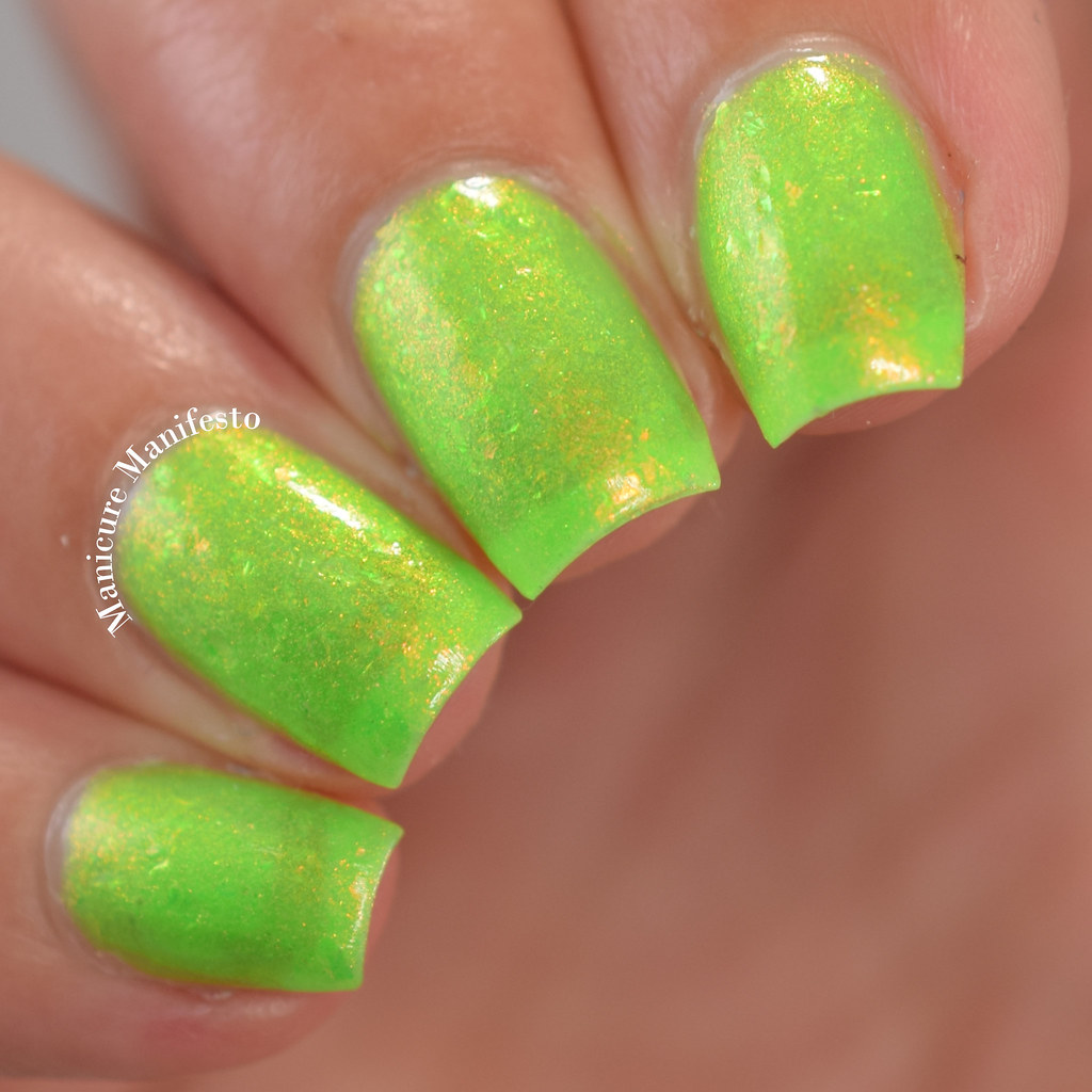 Paint It Pretty Polish Lime Time review