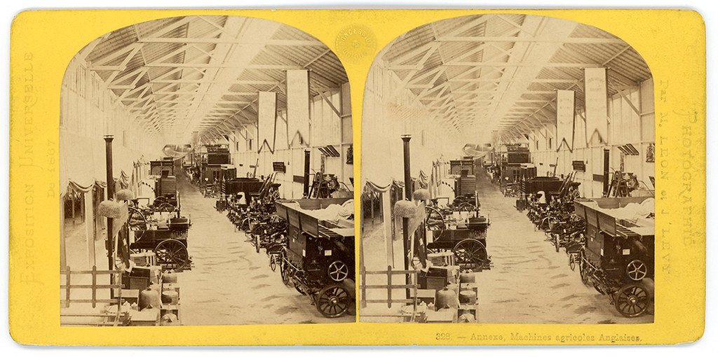 Illustration10-1867 Exhibition-Annexe-Machines agricoles section anglaisesmall