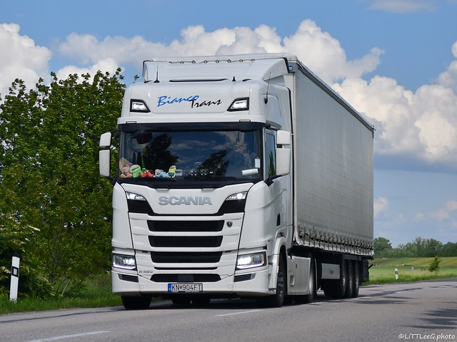 Scania R450 NG Highline Bianco Trans (SK)