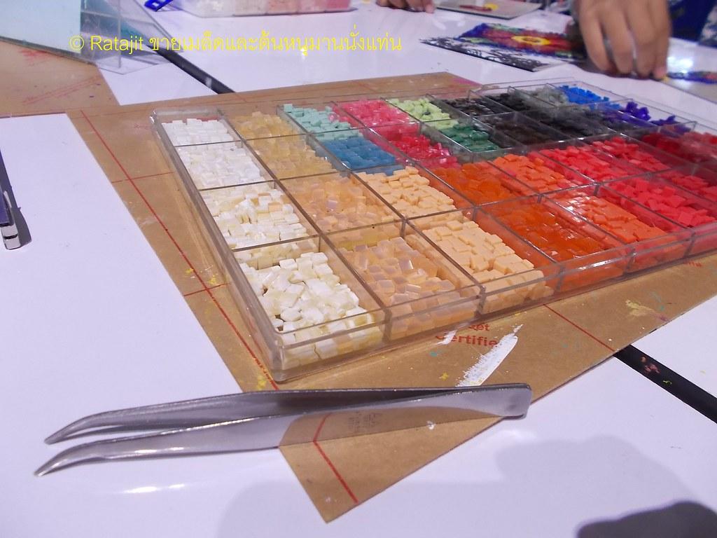 วัสดุในการทำ Mosaic Art