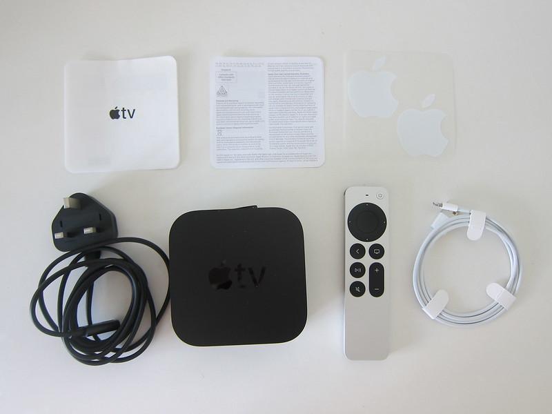 Apple TV 4K (2nd Generation) - Box Contents