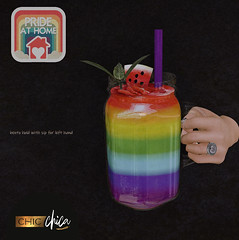 Rainbow Smoothie by ChicChica for Pride At Home