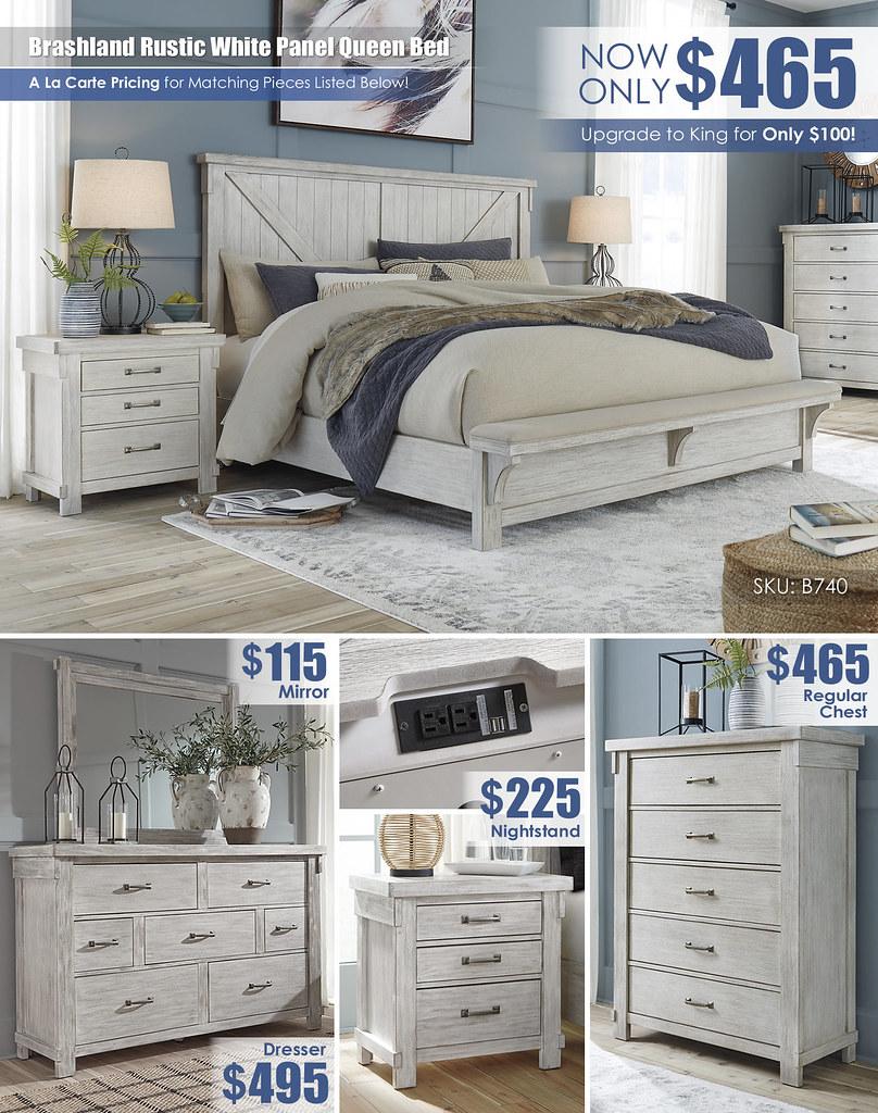 Lakeleigh Queen Reg Bed Layout_Regular Chest_B718-158-MOOD-H-B updated