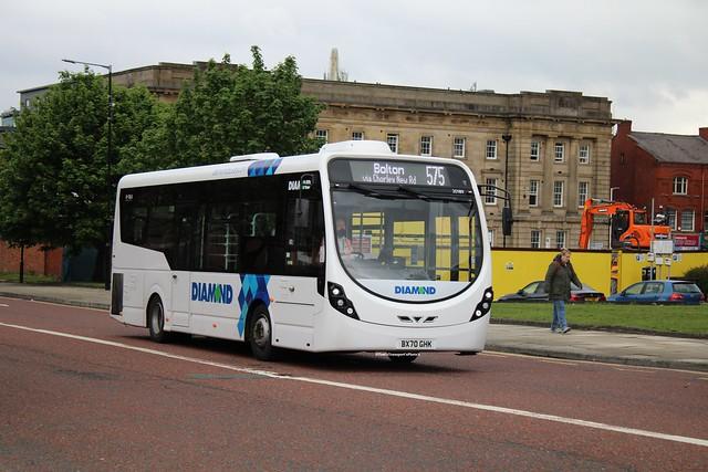 Diamond Bus North West 20189 BX70GHK