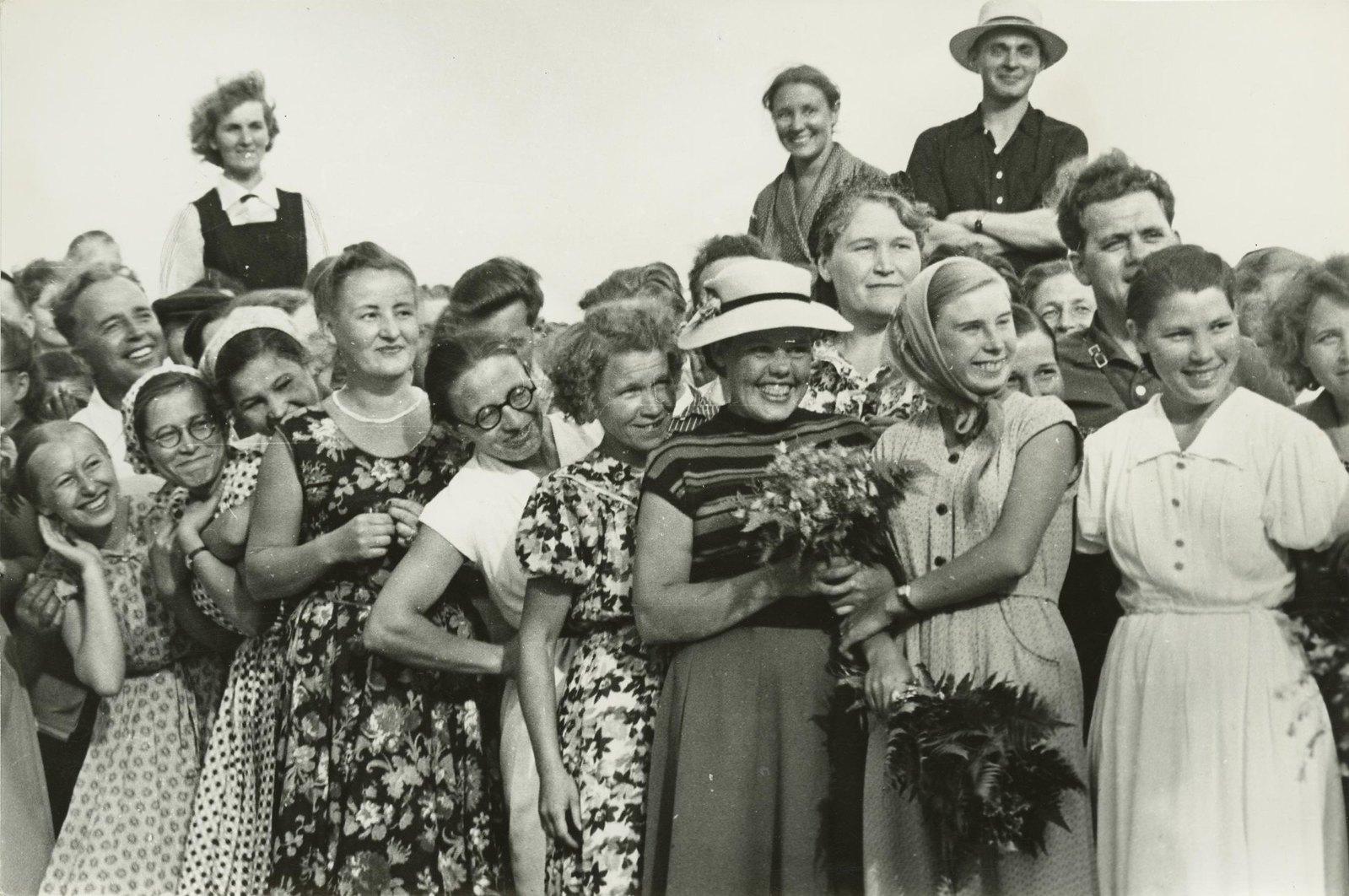 1950-е. На отдыхе
