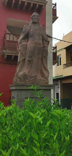 monumento al Rey Tenesor Semidán Fernando Guanarteme Gáldar isla de Gran Canaria