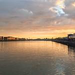 Red sky Preston Docks