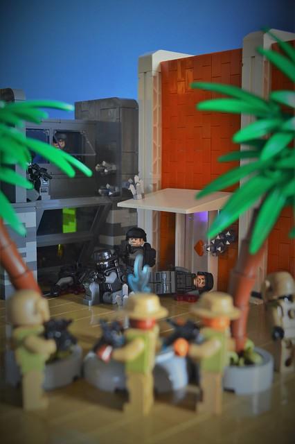 Ambush at Oasis Inn