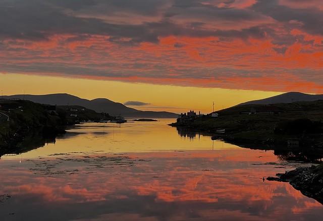 Bay head sunset,Scalpay