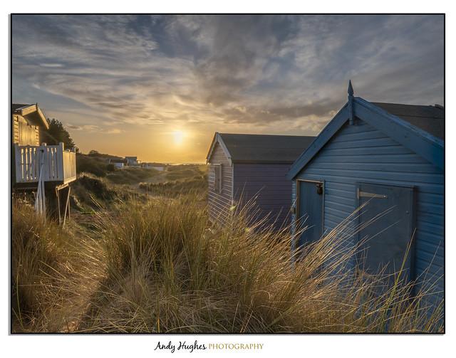 Through the dunes. Hunstanton, Norfolk, U.K.