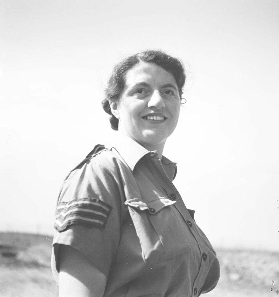 09. 1942. Вспомогательный женский корпус, сержант Пейн