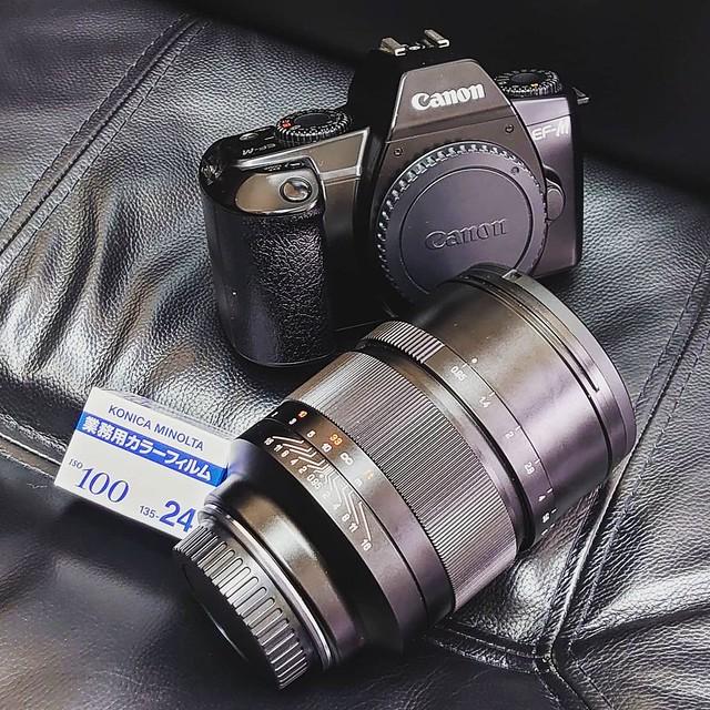 Speedmaster EF 50mm f0.95 Film味道