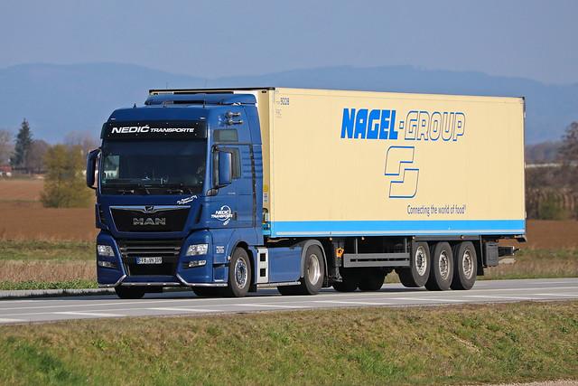 MAN TGX 18.500  Nedic Transporte