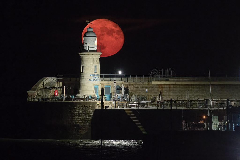 Super Flower Moon - Folkestone Pier