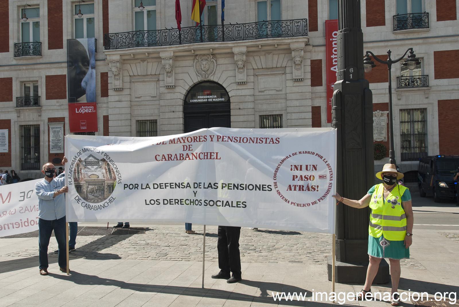Movilización Estatal Pensiones 29/05/2021